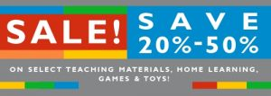 20-50% Off Sale Selected Items
