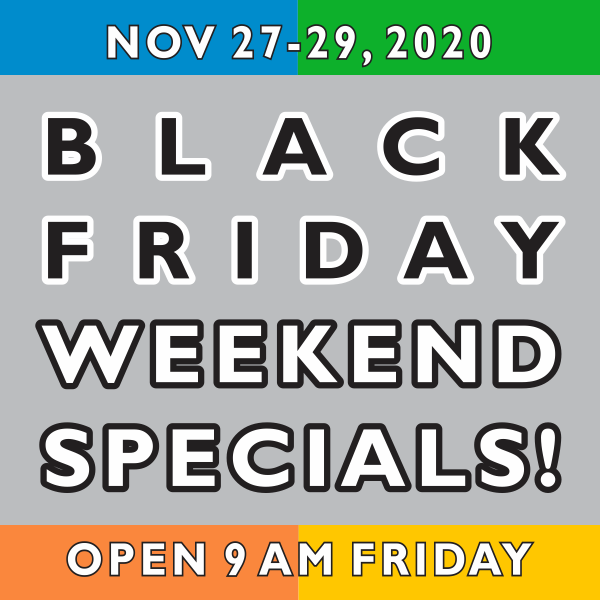Black Friday Weekend Specials Banner
