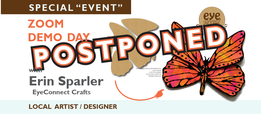Zoom Demo Day Postponed