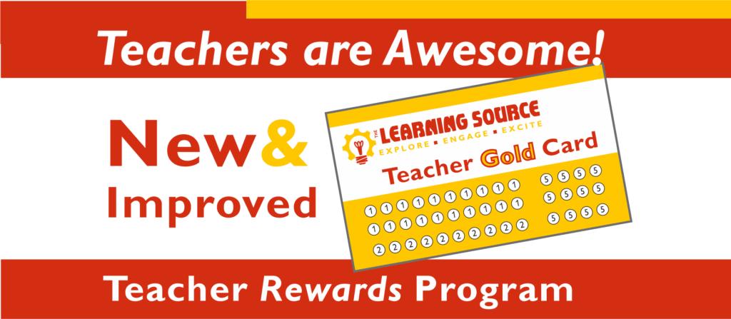 Teacher Gold Card Teacher Rewards Program New and Improved